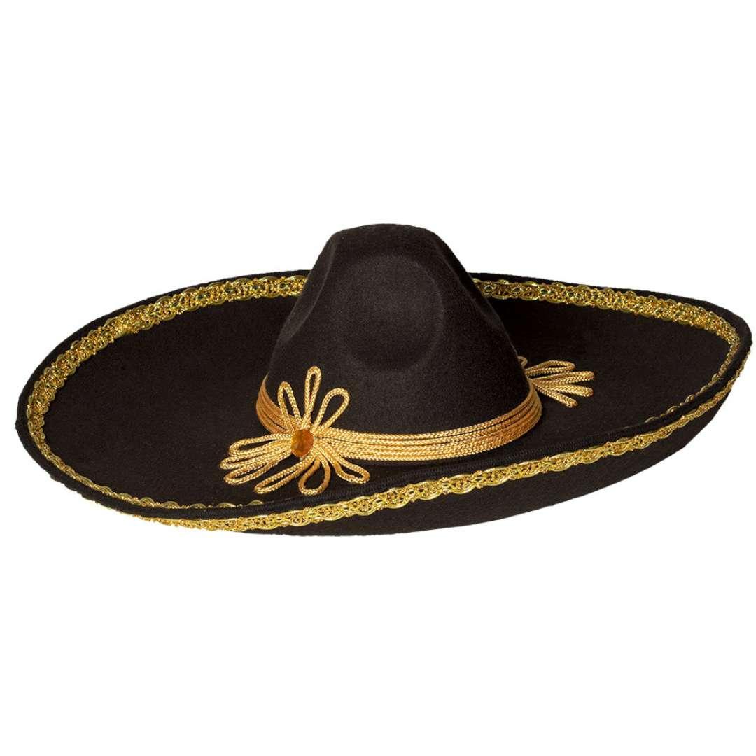 """Kapelusz """"Sombrero Carlos"""", czarny, Boland"""