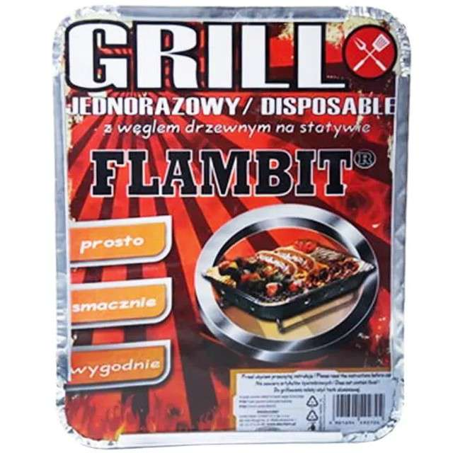 """Grill jednorazowy """"Piknikowy zestaw z węglem"""", Ravi"""