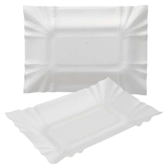 "Tacka papierowa ""Prostokątna"", Ravi, 13x20 cm, 12 szt"