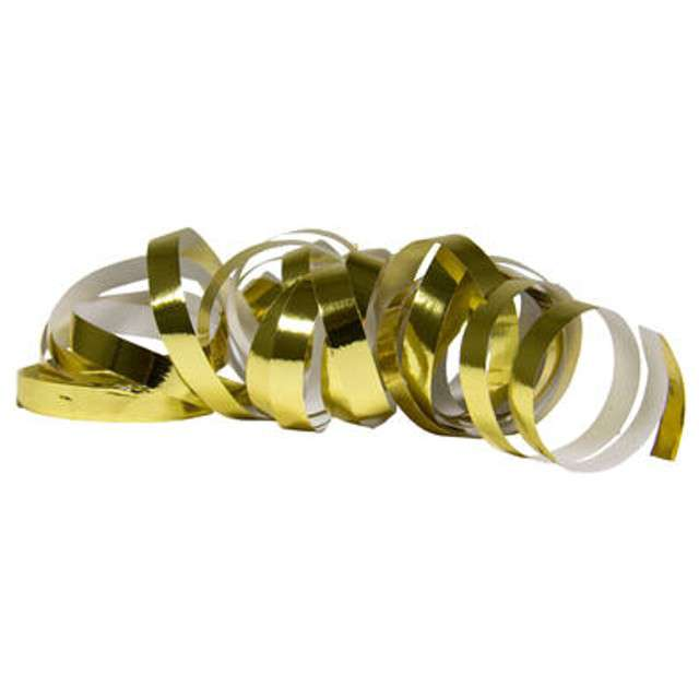 Serpentyna Metaliczna złota Folat 400 cm 2 szt