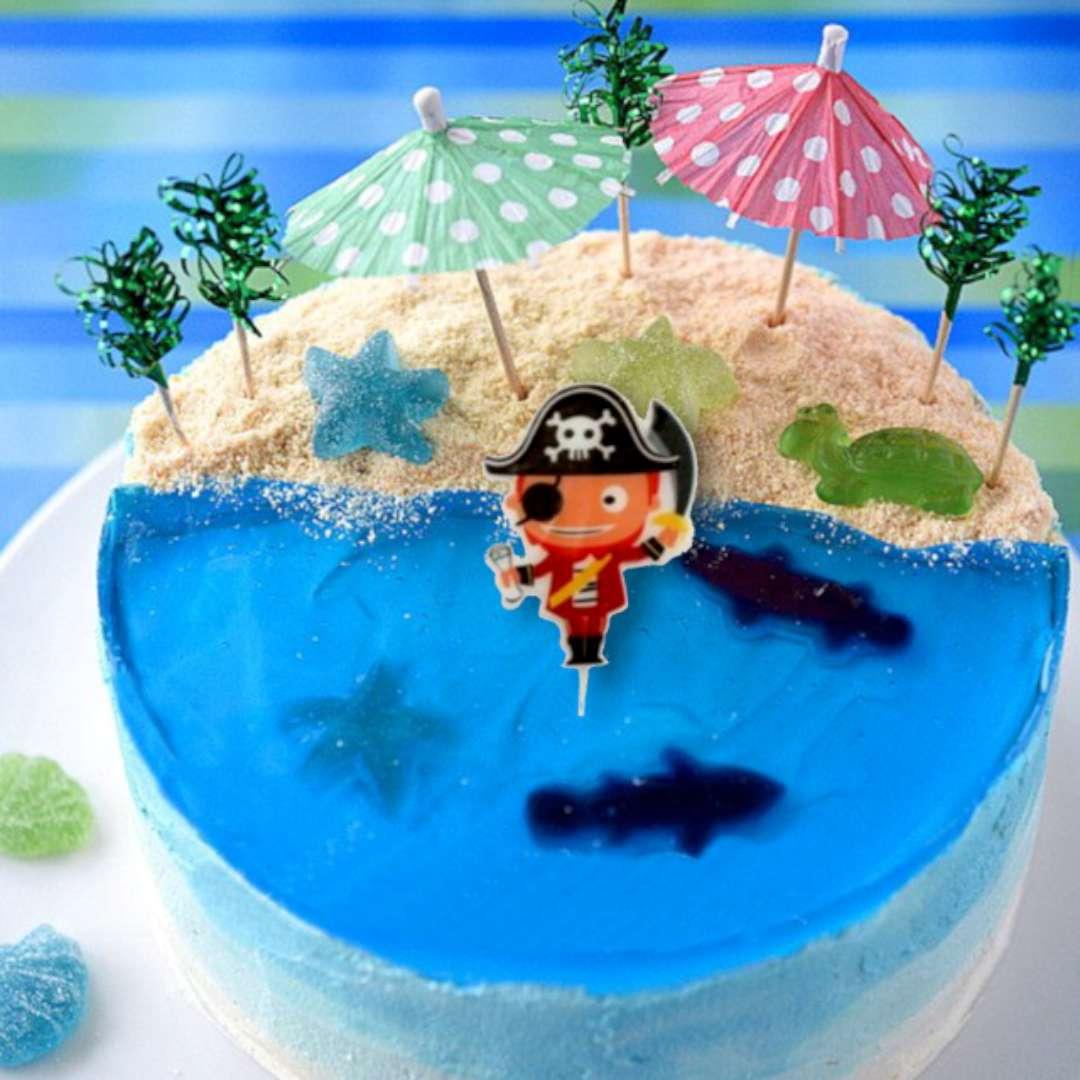 Świeczka na tort Mały Pirat Ravi