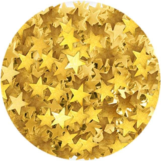 """Konfetti """"Gwiazdki Craft"""", złote, Titanum, 30 g"""