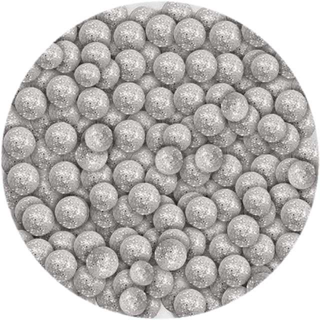 "Styropian ""Kuleczki brokatowe"", srebrne, Titanum, 20 g"