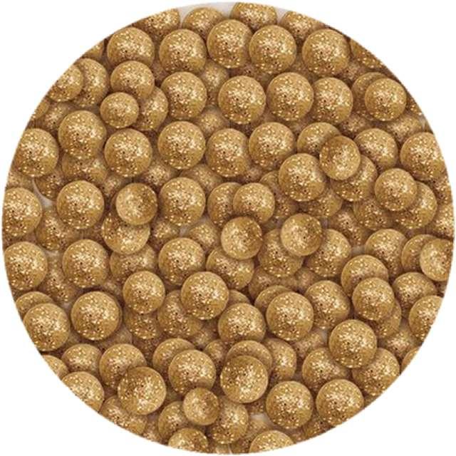 """Styropian """"Kuleczki brokatowe"""", złote, Titanum, 20 g"""
