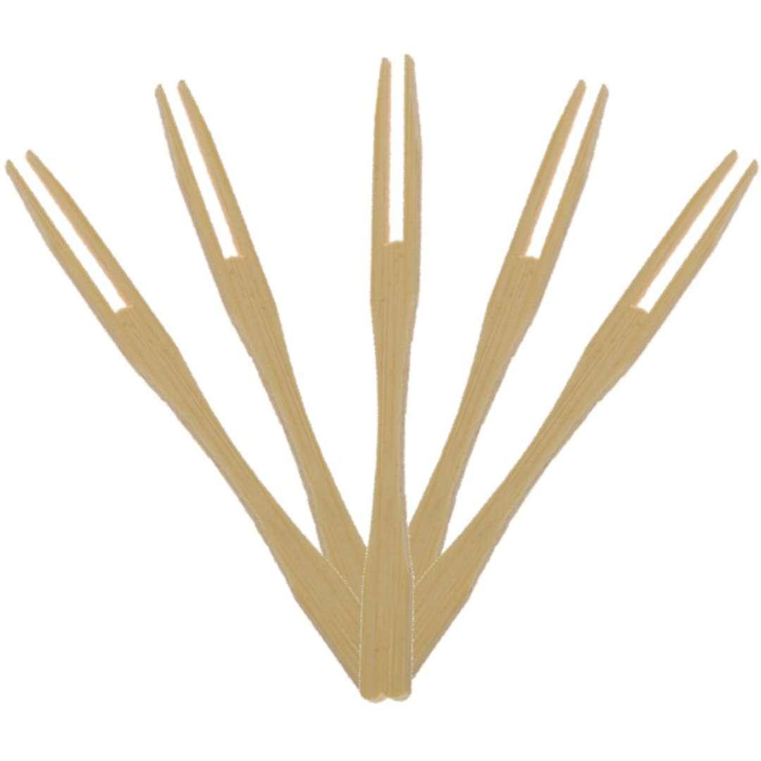 "Widelczyki bambusowe ""Natural"", Ravi, 50 szt"