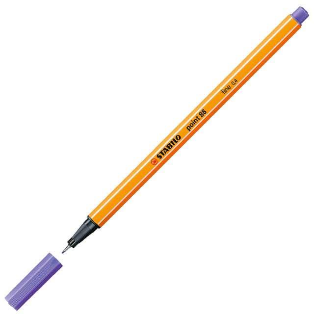 Cienkopis Point 88 jasno liliowy 59 gr.04mm Stabilo