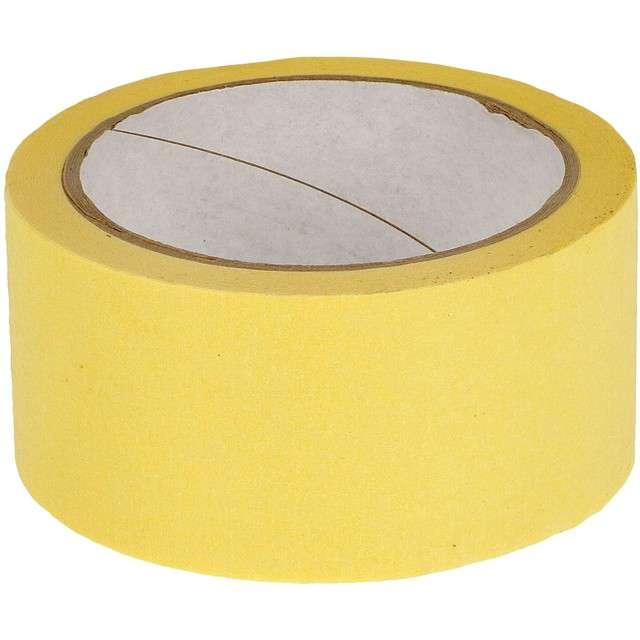 "Taśma papierowa ""Malarska 48 mm"" kremowa, Pakart, 33m"