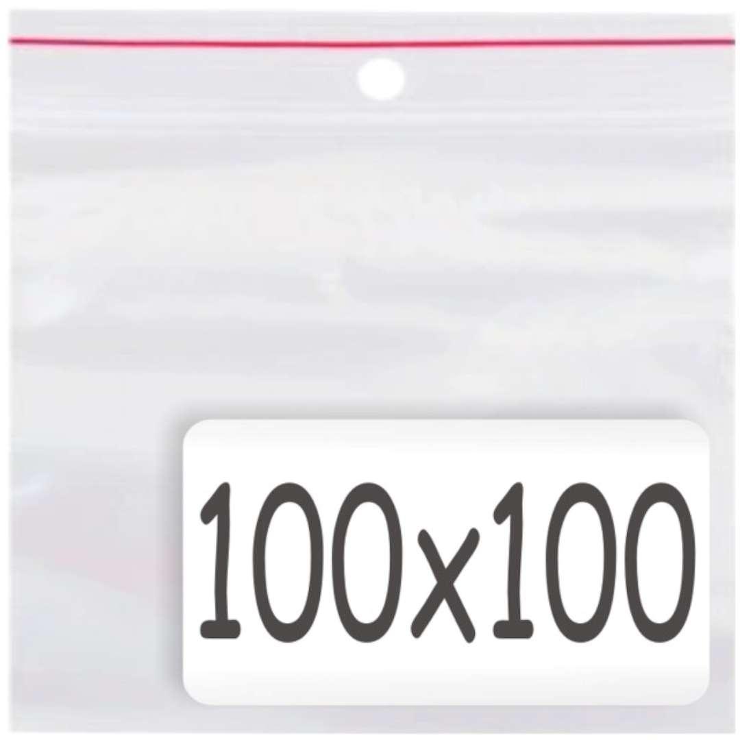 """Torebki strunowe """"Classic 100x100 x0.035mm"""", TAMIpol, 100 szt"""