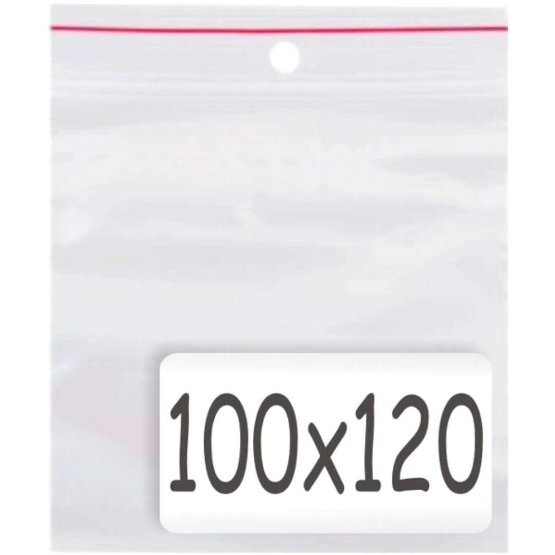 """Torebki strunowe """"Classic 100x120 x0.035mm"""", TAMIpol, 100 szt"""