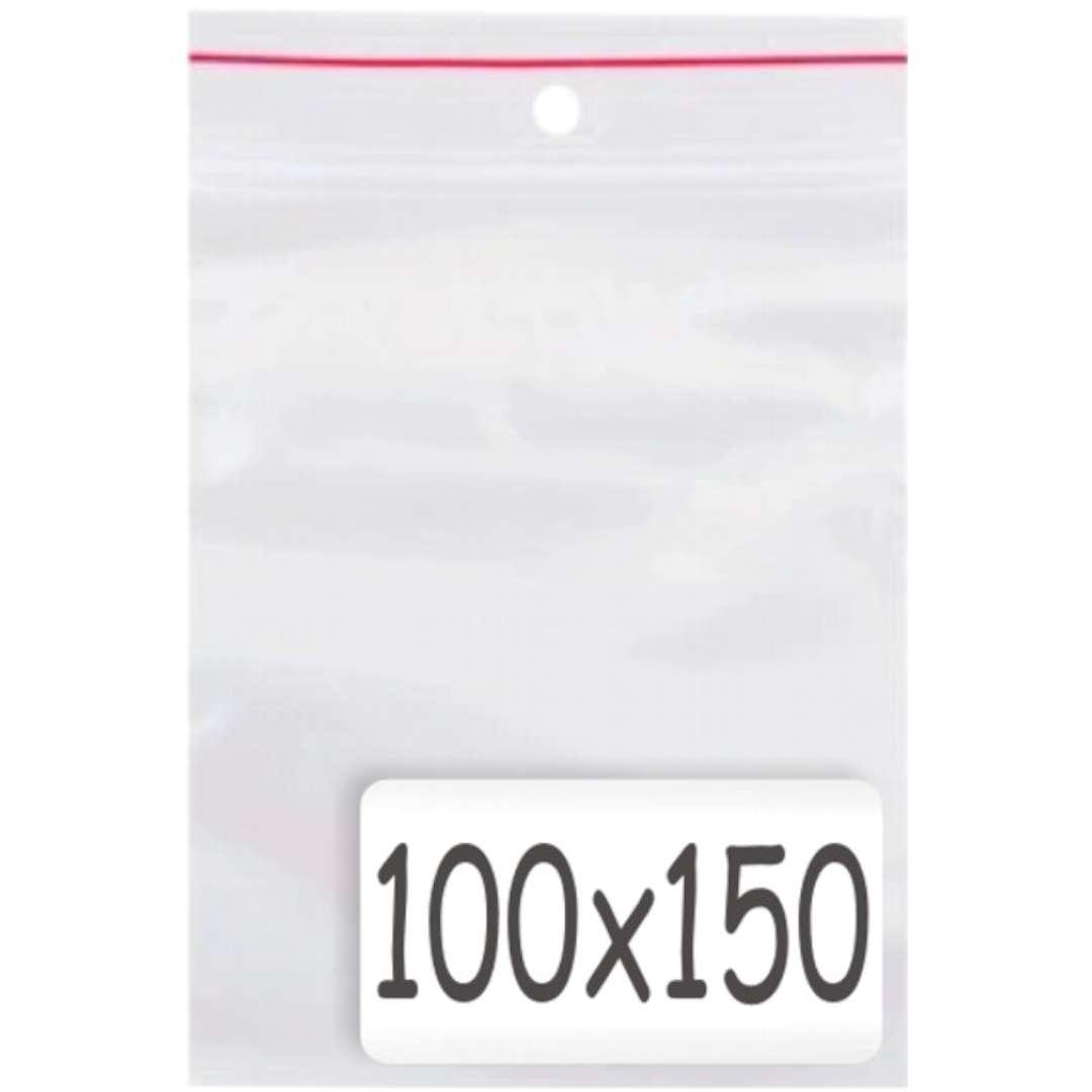 """Torebki strunowe """"Classic 100x150 x0.035mm"""", TAMIpol, 100 szt"""