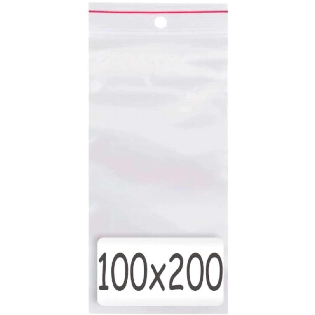 """Torebki strunowe """"Classic 100x200 x0.035mm"""", TAMIpol, 100 szt"""