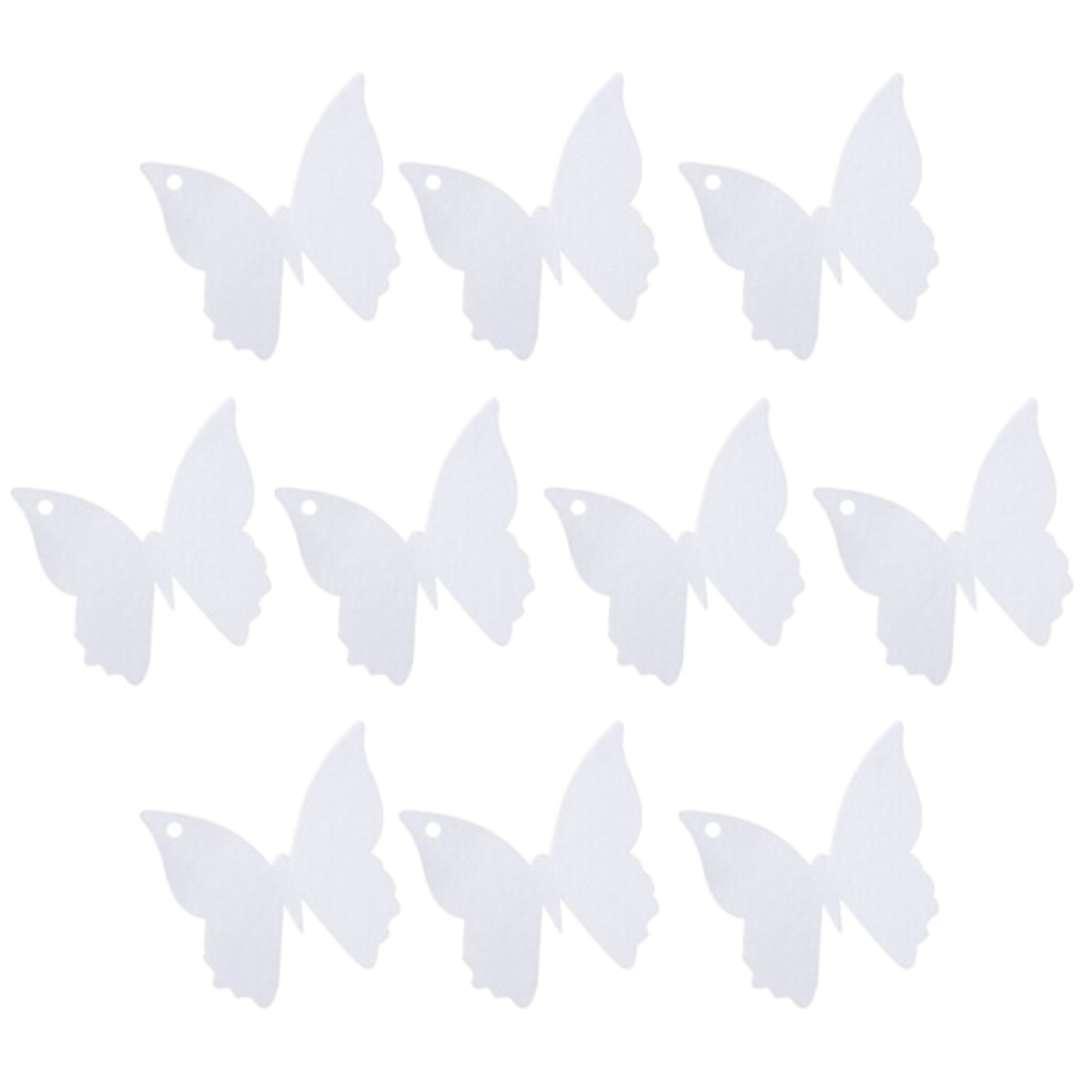 """Zawieszki na serwetki """"Motylki białe"""", Godan, 10 szt"""