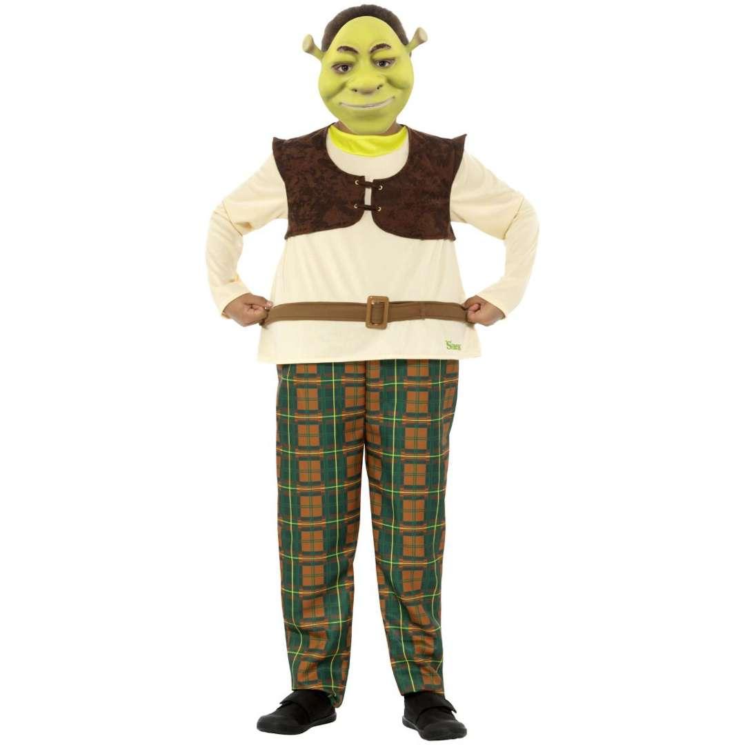 _xx_Strój dla dzieci Shrek Deluxe Smiffys rozm L