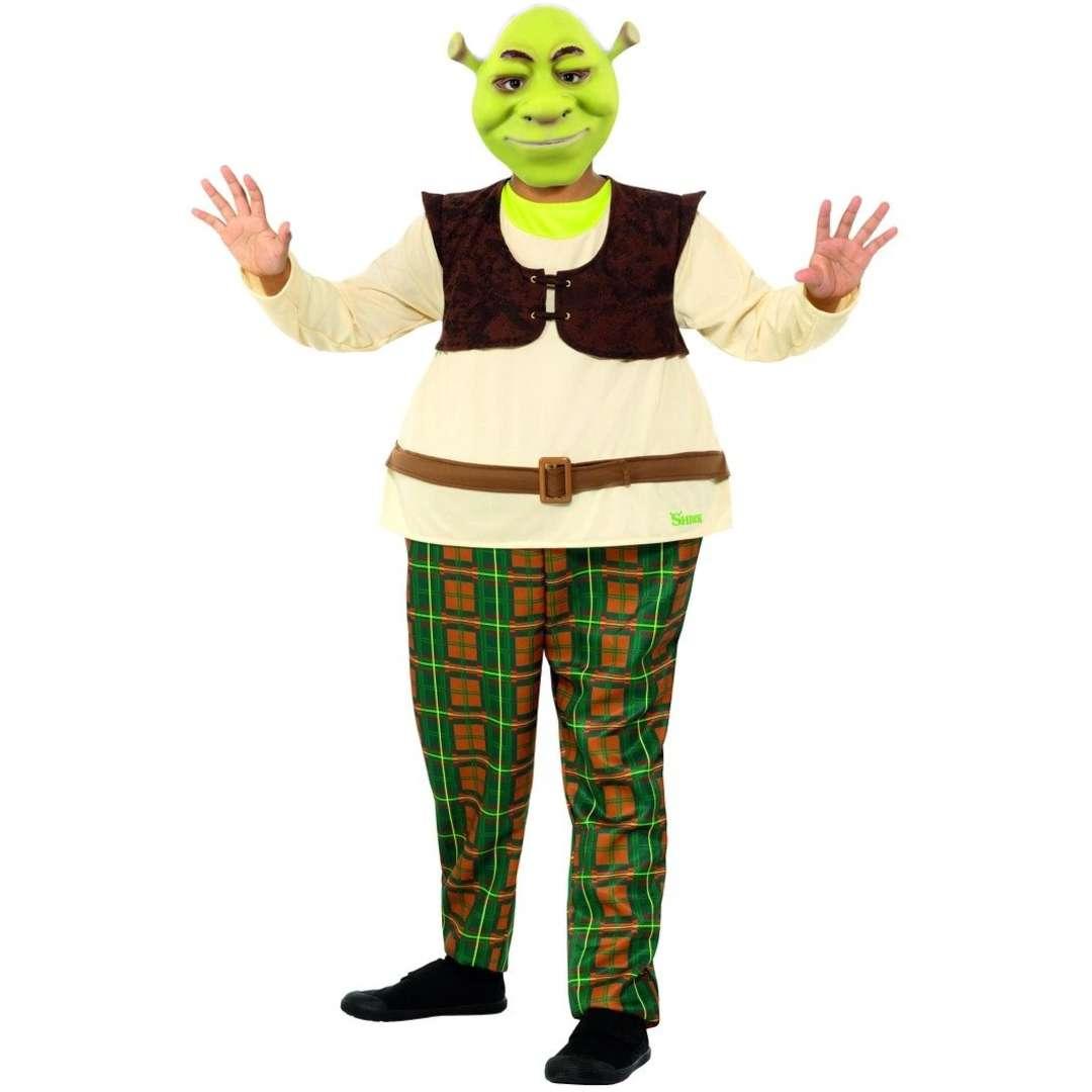_xx_Strój dla dzieci Shrek Deluxe Smiffys rozm S
