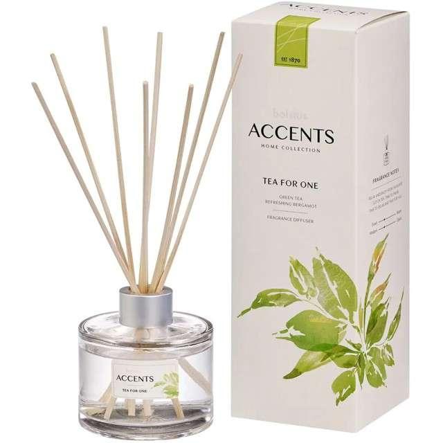 Odświeżacz zapachowy ACCENTS: Tea for One patyczki Bolsius 100 ml
