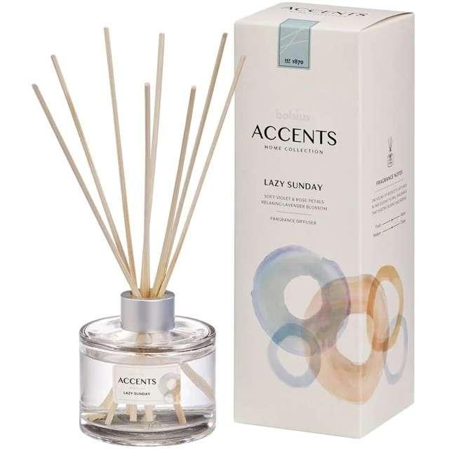 Odświeżacz zapachowy ACCENTS: Lazy Sunday patyczki Bolsius 100 ml
