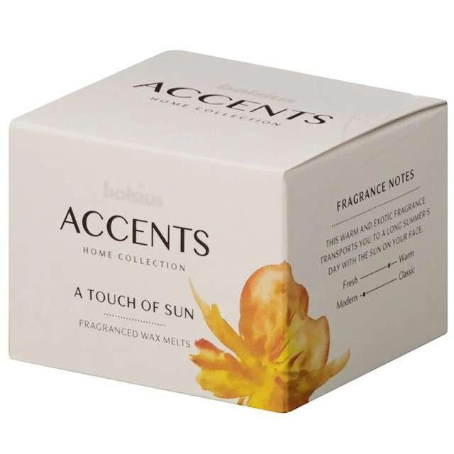 Wosk zapachowy W pudełku A Touch of Sun Bolsius 3 szt