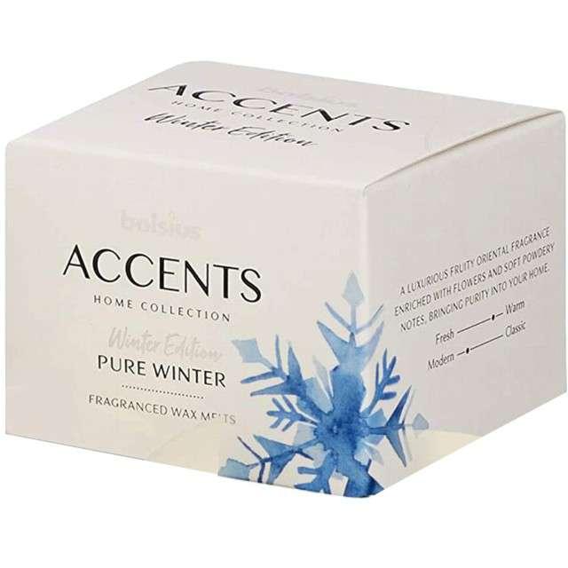 Wosk zapachowy W pudełku Pure Winter Bolsius 3 szt
