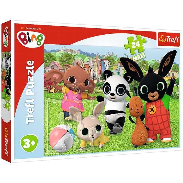 "Puzzle ""Bing Zabawa w parku"", Trefl, 24 elementy"