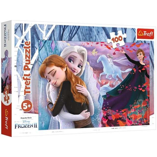 """Puzzle """"Frozen Na zawsze razem"""", Trefl, 100 elementów"""