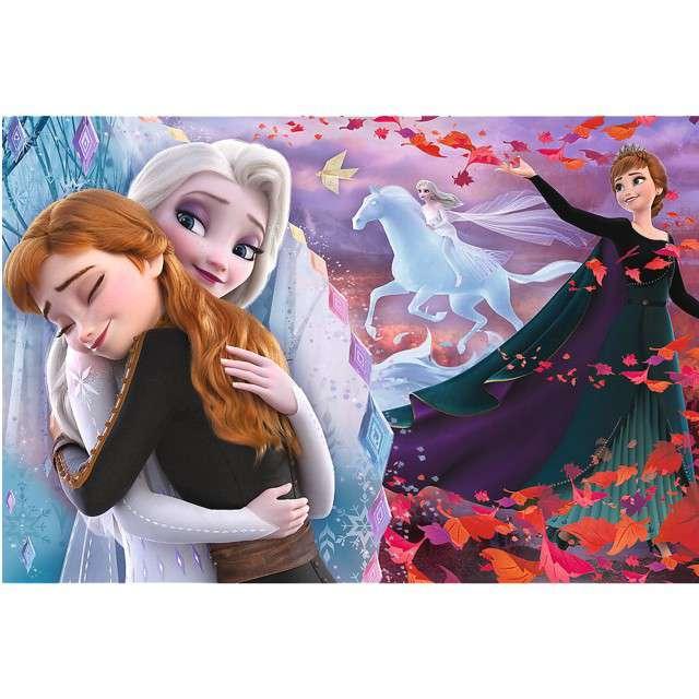 Puzzle Frozen Na zawsze razem Trefl 100 elementów
