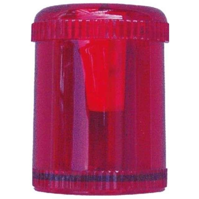 Temperówka Tuba czerwona Titanum