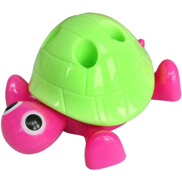 """Temperówka """"Żółwik"""", różowo-zielona, Titanum"""