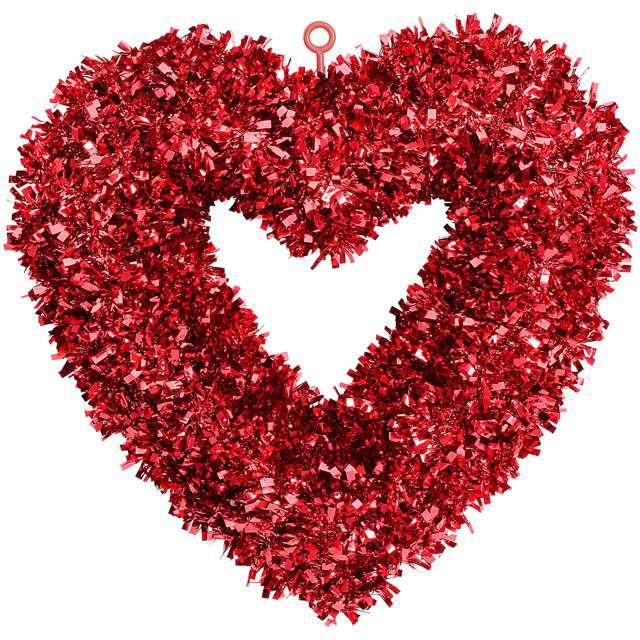 """Dekoracja """"Serce wielka miłość"""", Widmann, 46x44cmcm"""