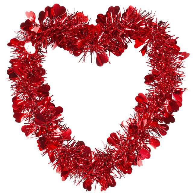 """Dekoracja """"Serce dla zakochanych"""", Widmann, 22x22 cm"""