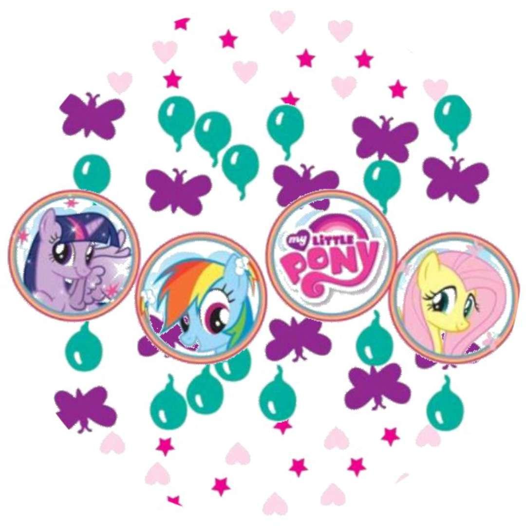 "Konfetti ""My Little Pony"", mix, 34 g"