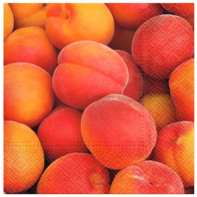 """Serwetki zapachowe """"Brzoskwinie i mango"""", PAW, 33 cm, 20 szt."""
