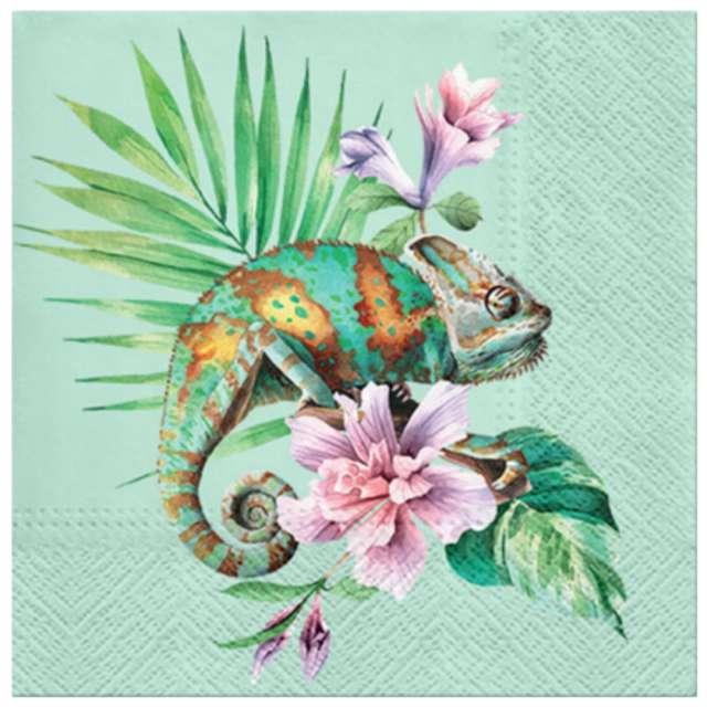 """Serwetki """"Egzotyczny kameleon"""", PAW, 33 cm, 20 szt."""