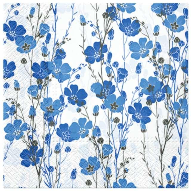 """Serwetki """"Kwiaty lnu"""", PAW, 33 cm, 20 szt."""