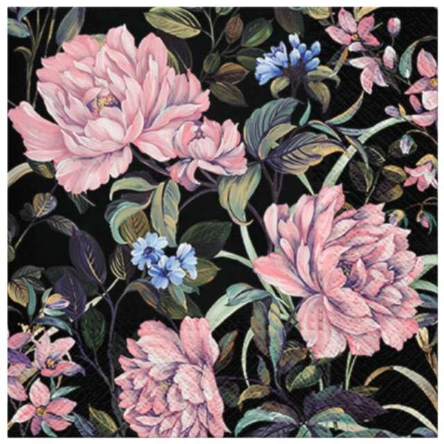 """Serwetki """"Tajemnicze kwiaty"""", PAW, 33 cm, 20 szt."""