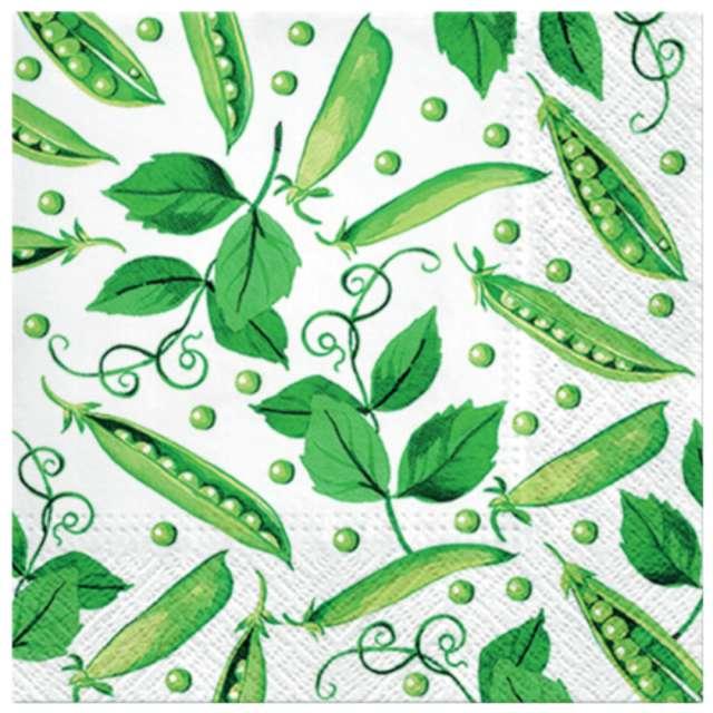 """Serwetki """"Świeży zielony groszek"""", PAW, 33 cm, 20 szt."""