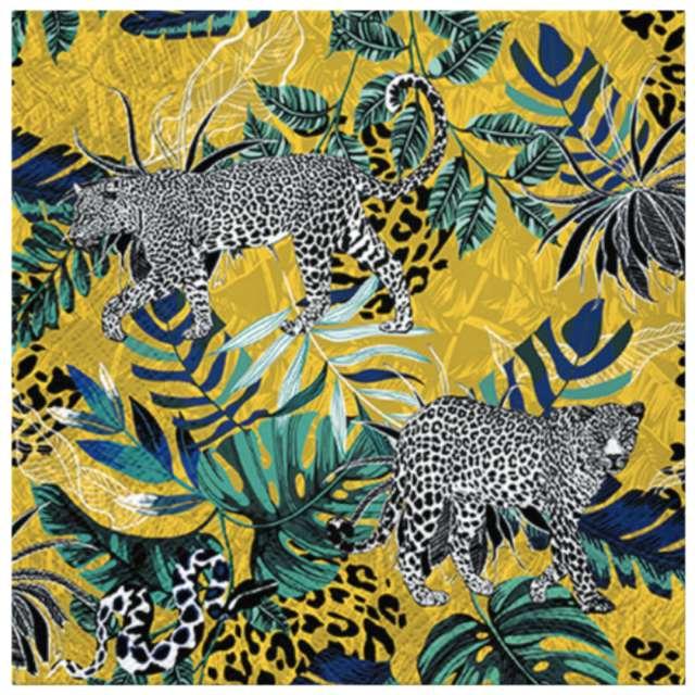"""Serwetki """"Ukryta dżungla"""", PAW, 33 cm, 20 szt."""