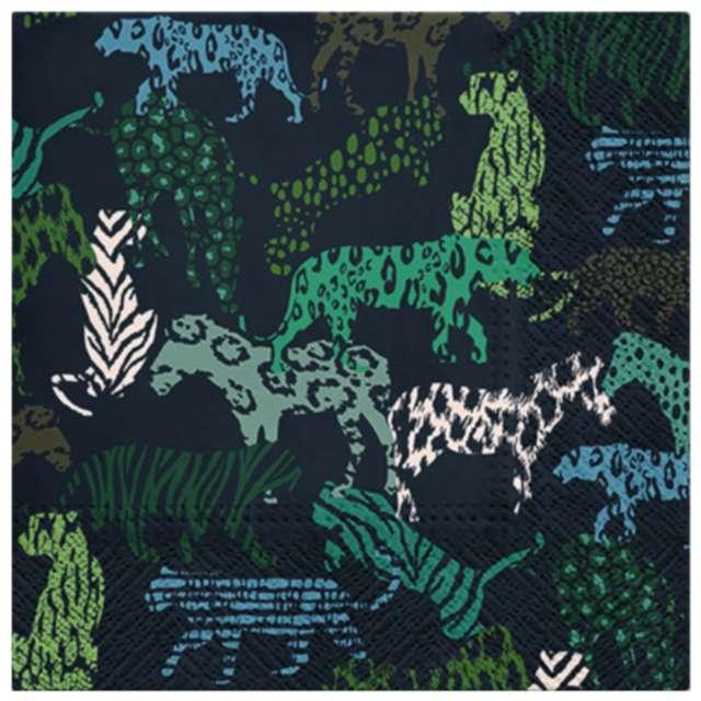 """Serwetki """"Drukowana dżungla"""", PAW, 33 cm, 20 szt."""