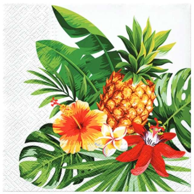 """Serwetki """"Ananas"""", PAW, 33 cm, 20 szt."""