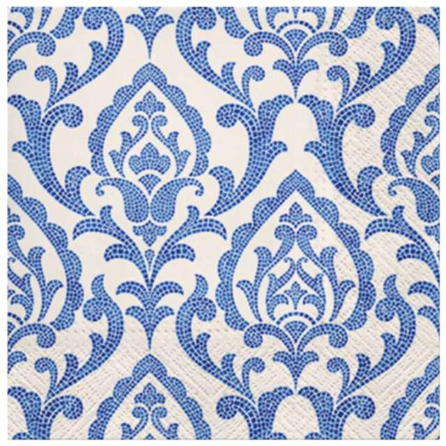 Serwetki Portugalski ornament PAW 33 cm 20 szt.