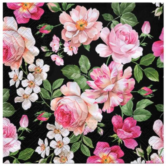 """Serwetki """"Ciemne róże"""", PAW, 33 cm, 20 szt."""