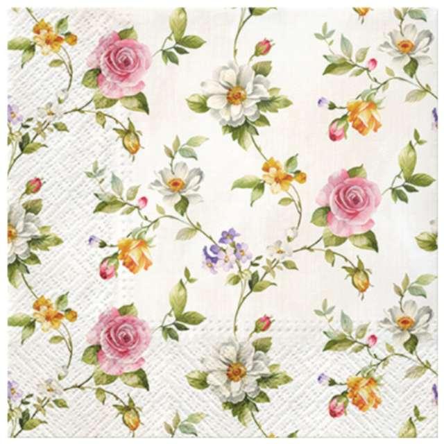 """Serwetki """"Czułe róże"""", PAW, 33 cm, 20 szt."""