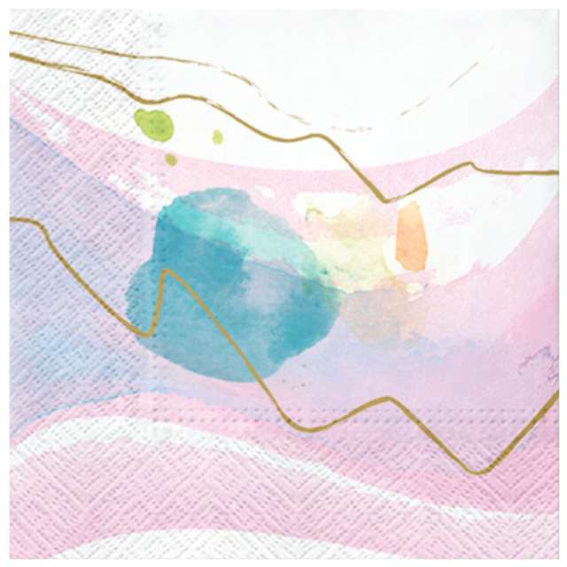 """Serwetki """"Pastelowy obraz"""", PAW, 33 cm, 20 szt."""