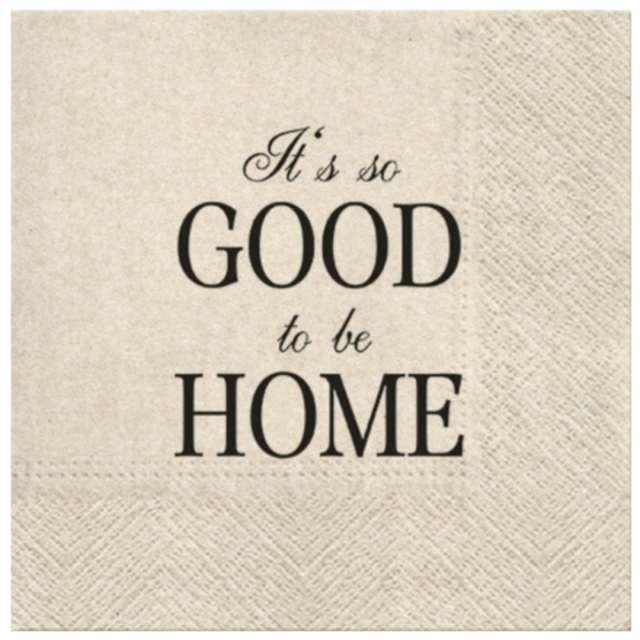 "Serwetki ""We Care - Good to be home"", PAW, 33 cm, 20 szt."
