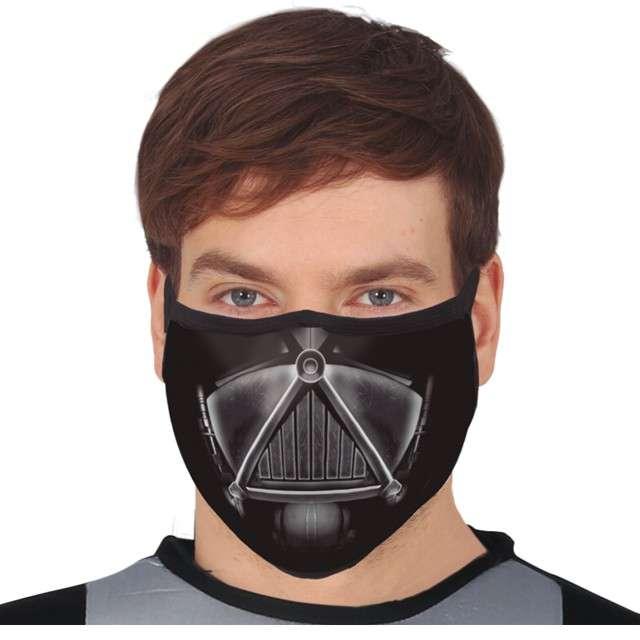 Maseczka dla dorosłych Vader czarna Guirca