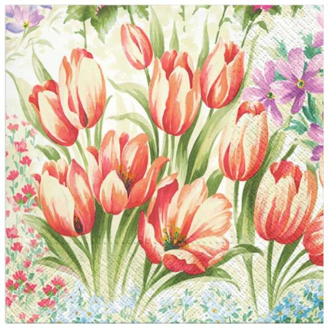 """Serwetki """"Jasne tulipany"""", PAW, 33 cm, 20 szt."""