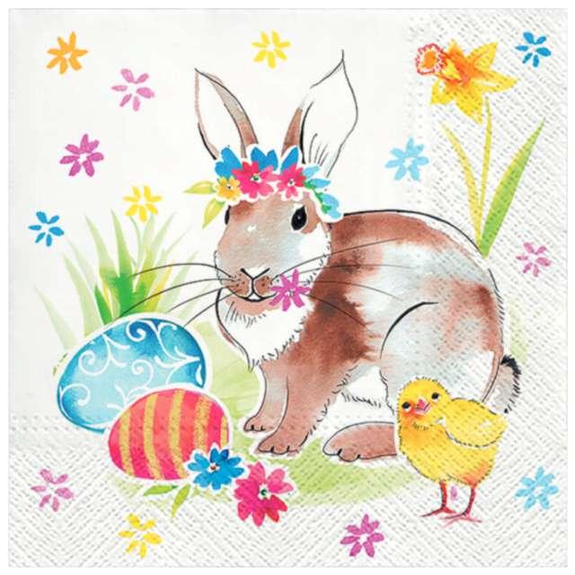 """Serwetki """"Wielkanoc - przyjaciele"""", PAW, 33 cm, 20 szt."""