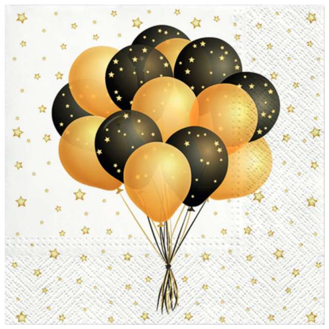 """Serwetki """"Latające balony"""", PAW, 33 cm, 20 szt."""