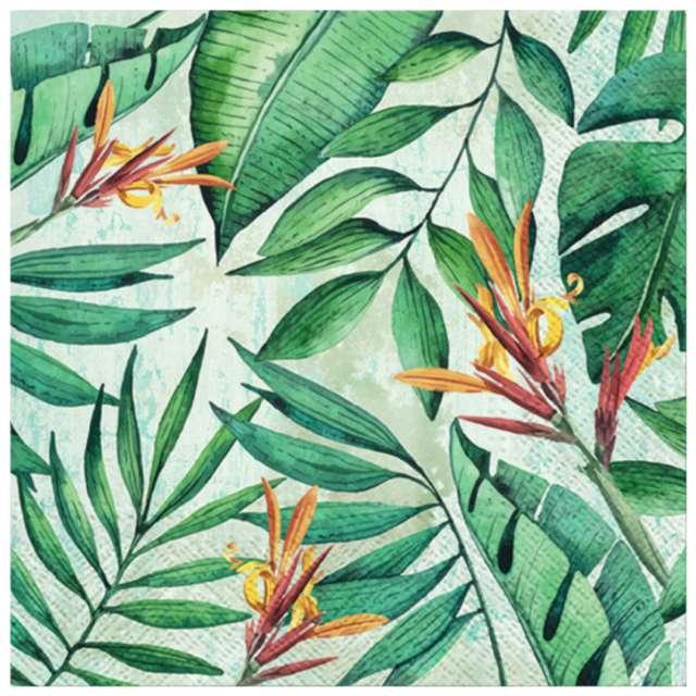 """Serwetki """"Tropikalny ogród"""", PAW, 33 cm, 20 szt."""