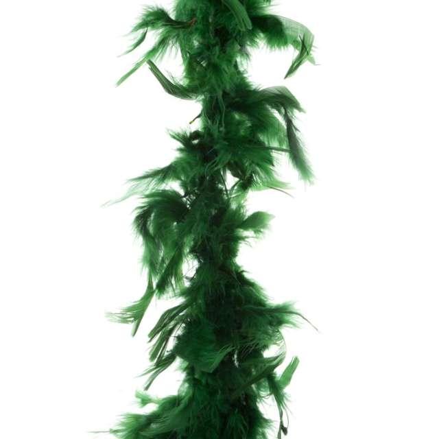 "Boa ""Deluxe"", zielony ciemny, FunnyFashion, 200 cm, 45 g"