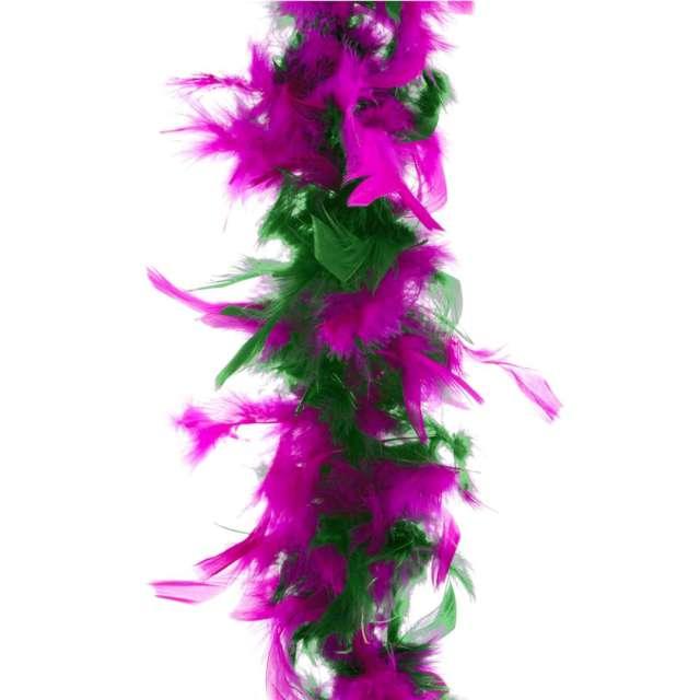 """Boa """"Deluxe"""", zielono-fioletowy, FunnyFashion, 200 cm, 45 g"""
